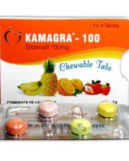 Kamagra Chewable Flavoured 100mg