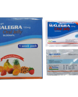 Malegra Oral Jelly Flavoured 100mg