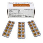 Super Tadarise 20/60mg - 10-free-tabs