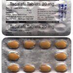 Tadalafil 20mg - 10-free-tabs