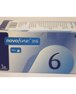 Novofine HGH Pen Needle 100X0.6mm, 31G